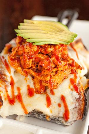 La Sandia : BBQ Chicken Skillet Nachos