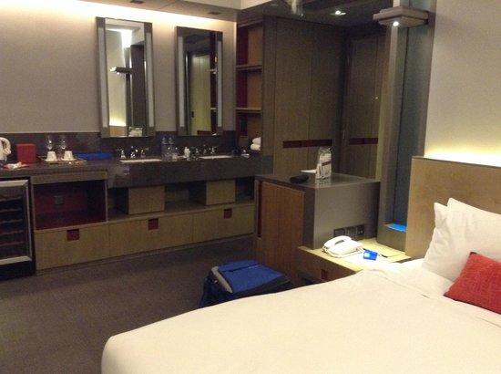 Wanchai 88 Hotel : Vanity