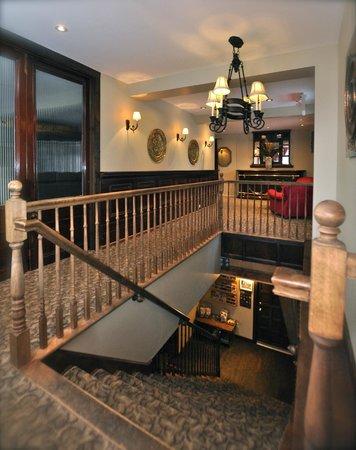 Hotel Mont-Tremblant: Hall d'escalier