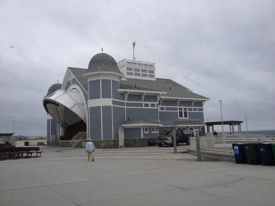 Hampton Beach State Park : Outdoor auditorium