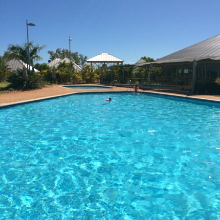 Exmouth Escape Resort : Pool area