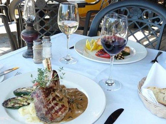 Hotel Mont-Tremblant : Diner sur la terrasse