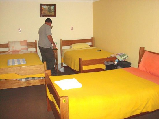 Tayka Hostel: sharedrooms