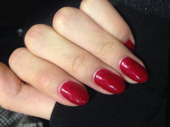 Treatments at Bank: Beautiful Xmas nails!