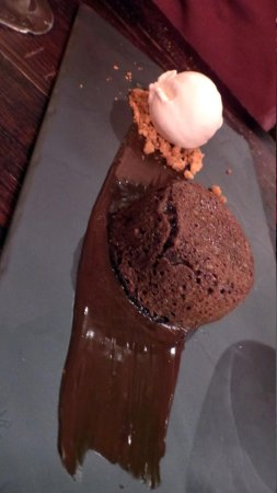Comme a Savonnieres: Chocolate Souffle