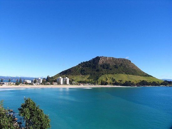 ‪كايماي كانتري لودج: Walk to the top of Mount Maunganui for awesome views across the Bay of Plenty‬