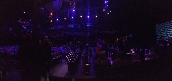 Blue Man Group: auditorium at Charle's Playhouse