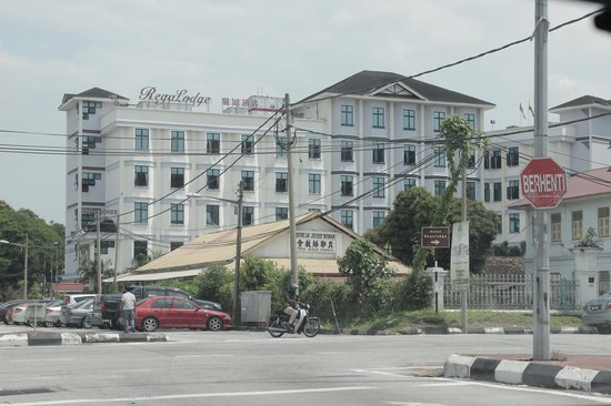 Regalodge Hotel Ipoh: hotel view