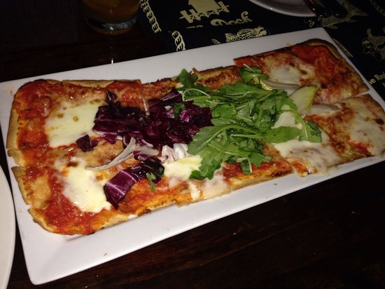 The Dock at Crayton Cove : Flatbread pizza or something like that