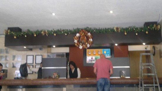 Hotel Metropol: en el lobby
