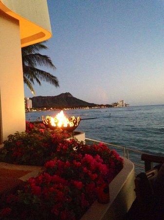 Sheraton Waikiki: view from the bar