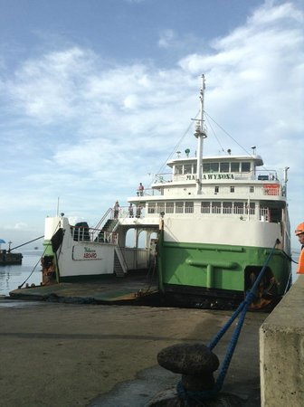 Marco Vincent Dive Resort: Ferry at Port Batangas