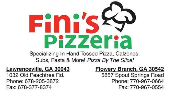 Fini's Pizzeria: The locations