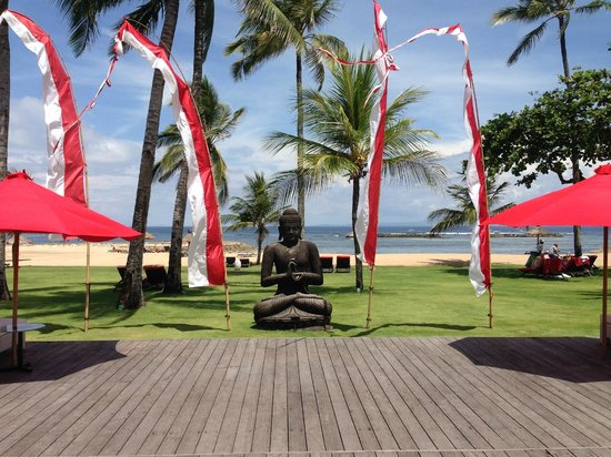 Club Med Bali : Beachh front view