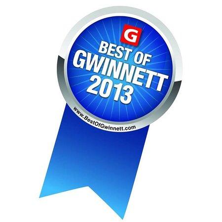 Fini's Pizzeria: Best of Gwinnett for 6 years!!