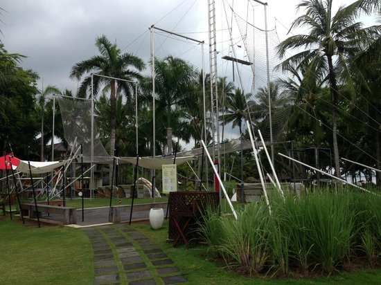 Club Med Bali : Trapeze