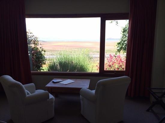 Hosteria La Estepa: room with lake view