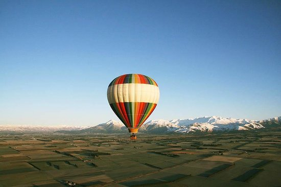 Hot Air Ballooning | Amazing Space Methven