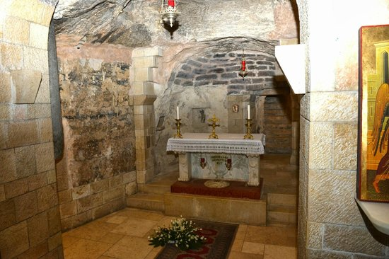 The Church of the Annunciation: The Grotto/Mary's home