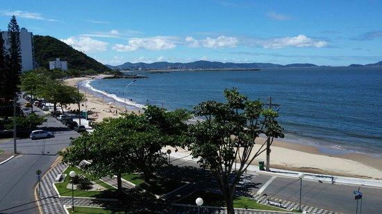 Itajaí, SC: Vista do hotel marambaia cabeçudas