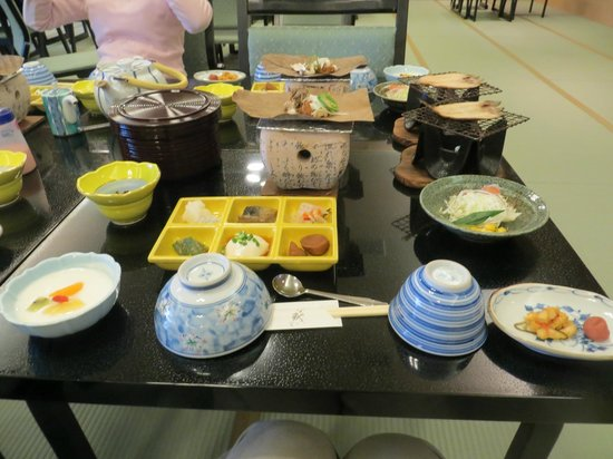 Takayama Kanko Hotel: Breakfast