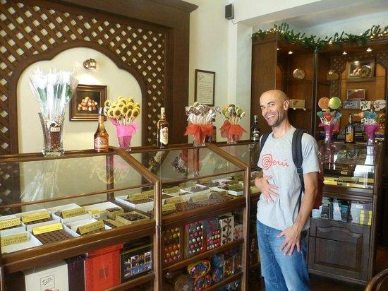Para Ti Chocolates: La boutique Calle Audiencia
