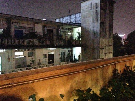 Secret Garden Home-cooked Vietnamese Restaurant: on the terrace