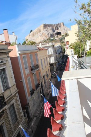 AVA Hotel Athens : View