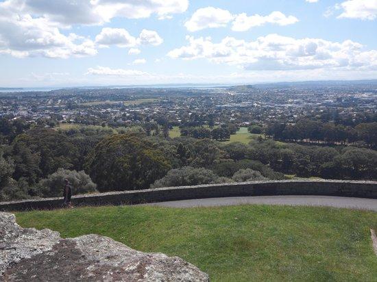 One Tree Hill (Maungakiekie): view 2