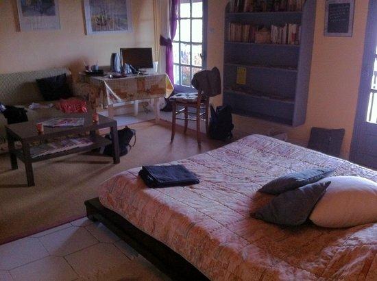 Chez Delphine : our room