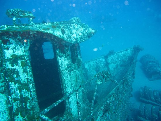 The Scuba Shack: St. Anthony wreck