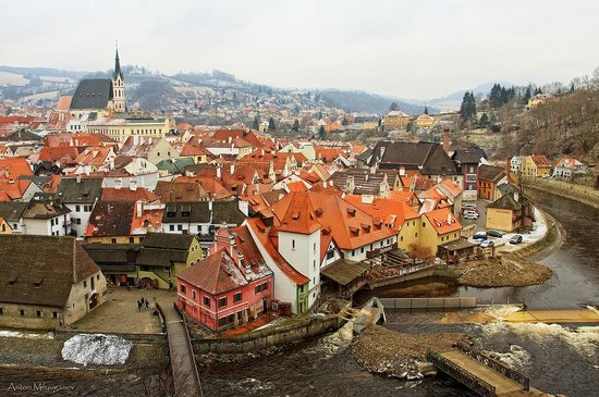 Historic Center of Cesky Krumlov: Весна в Крумлове