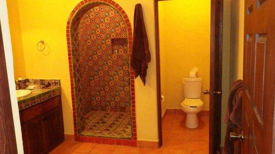 Cerritos Surf Town: Main bathroom, walk in shower