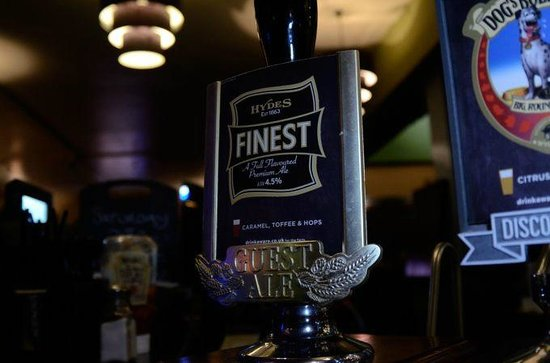 The Bloomsbury Pub: Ales at the Bloomsbury