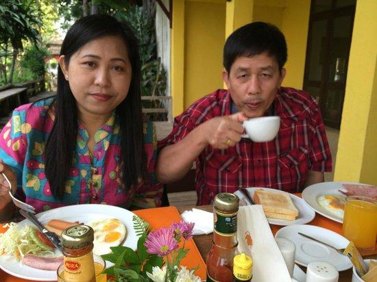 Baan Krating Pai Hotel: อาหารเช้า