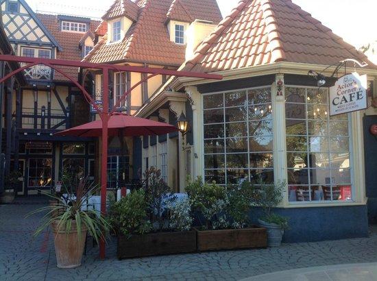 Outside of Actor's Corner Cafe'