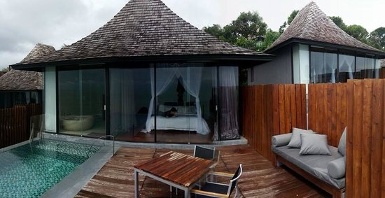 Silavadee Pool Spa Resort: Outdoor exterior and private pool