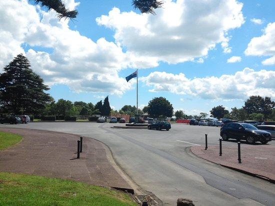 Parque Cornwall: flag