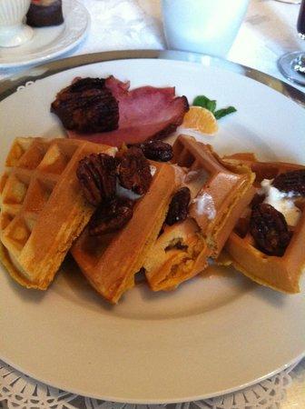 Eva's Escape at the Gardenia Inn: Sweet Potato Waffles