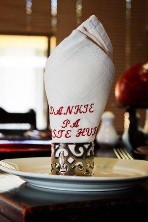Dankie Pa Gastehuis: dining area