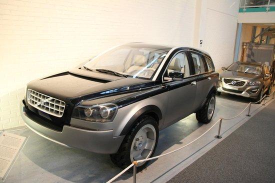 Volvo Museum: Концепт XC90