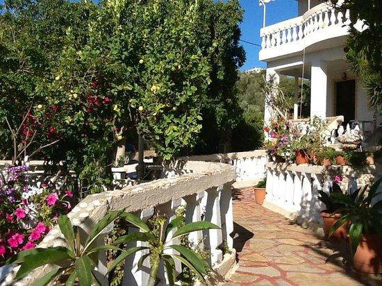 Villa Italiana: Дворик