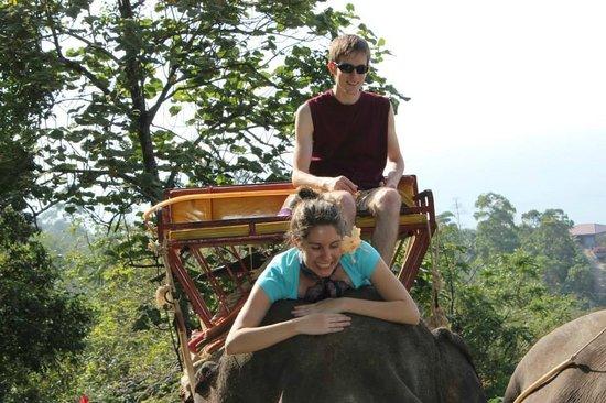 KokChang Safari Elephant Trekking: Having a great time!