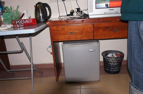Adina Motel: small freezer