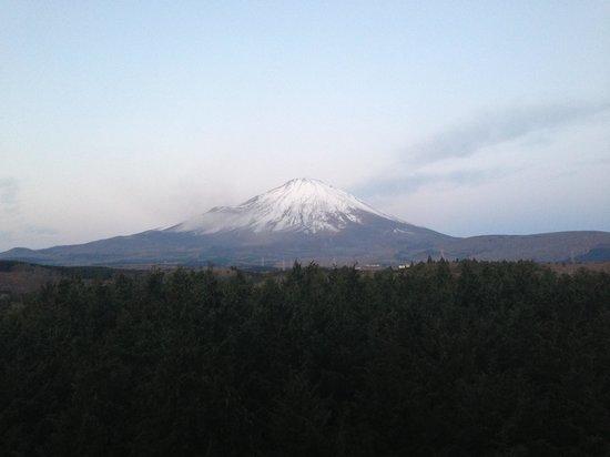 Fujinobou Kaen Hotel: Mt Fuji view from hotel