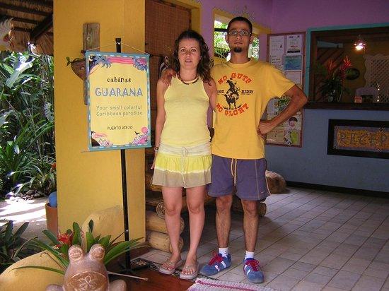 Hotel Guarana: En el recibidor de recepcion