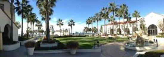 Hyatt Regency Huntington Beach Resort & Spa: View from the dining patio