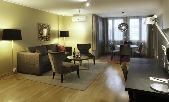 Scandic Hotel Uplandia: Suite Livingroom