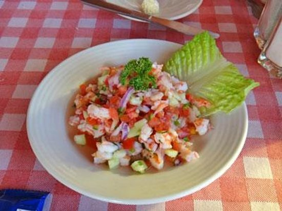 Papagayo: Look at that Ceviche! It's as good as it looks. Believe me!