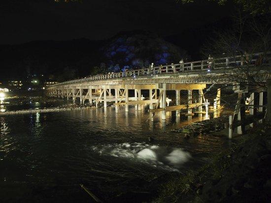 Togetsukyo: Bridge illuminated